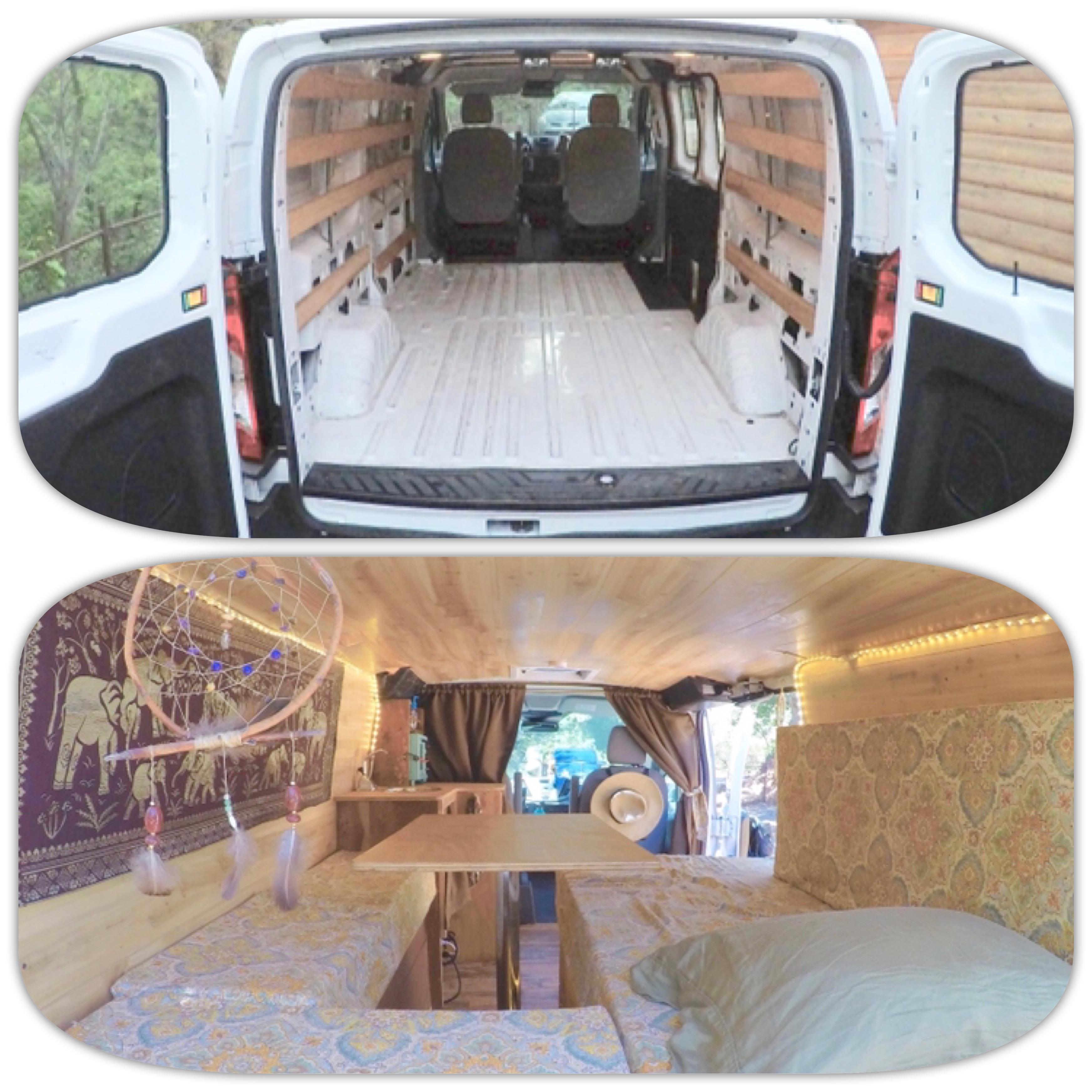 bb31d35d0cab DIY Budget Van Build  How I Converted a Cargo Van Into a Camper for ...