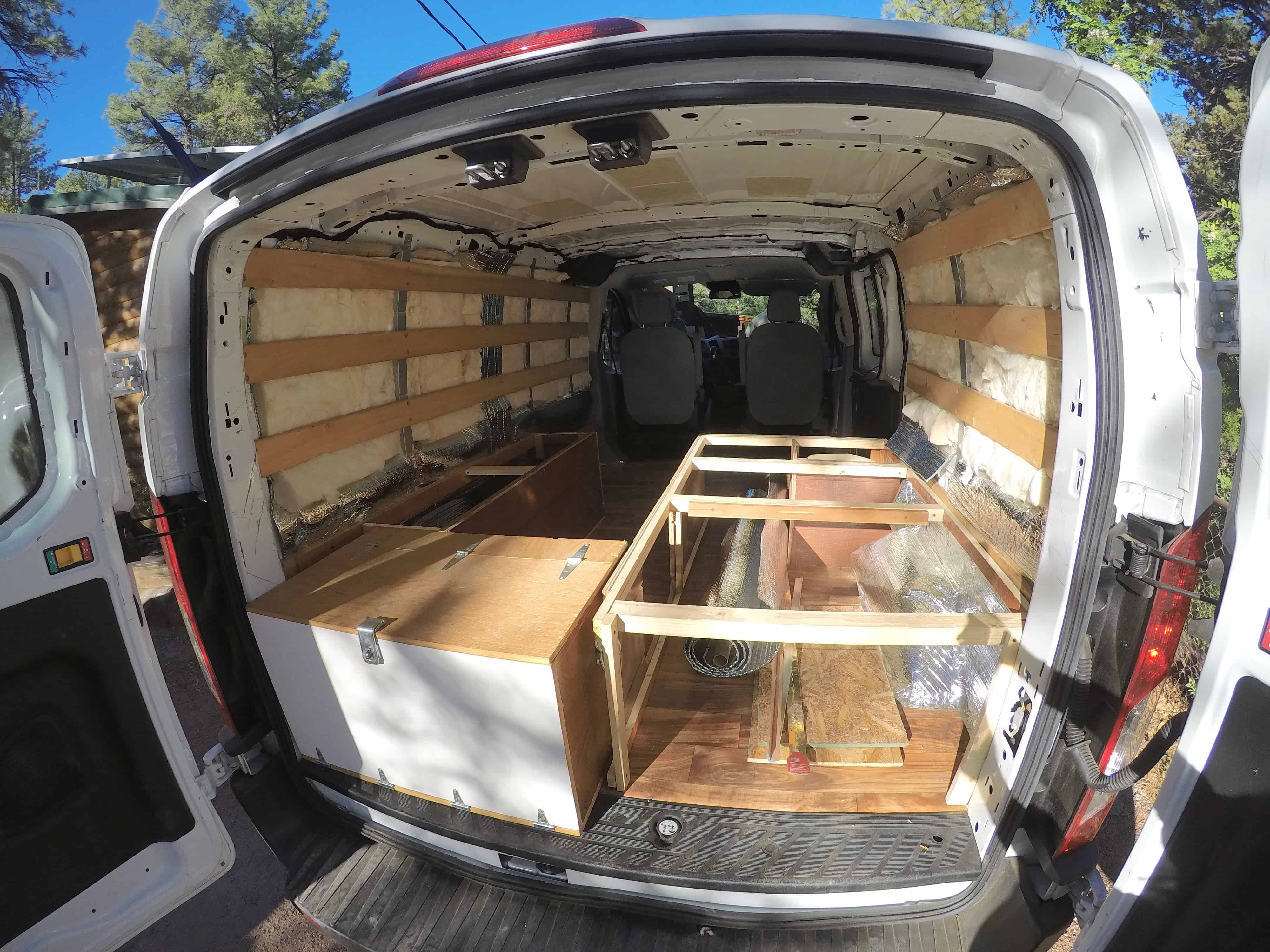 Chevy Express Camper Van Build ✓ All About Chevrolet