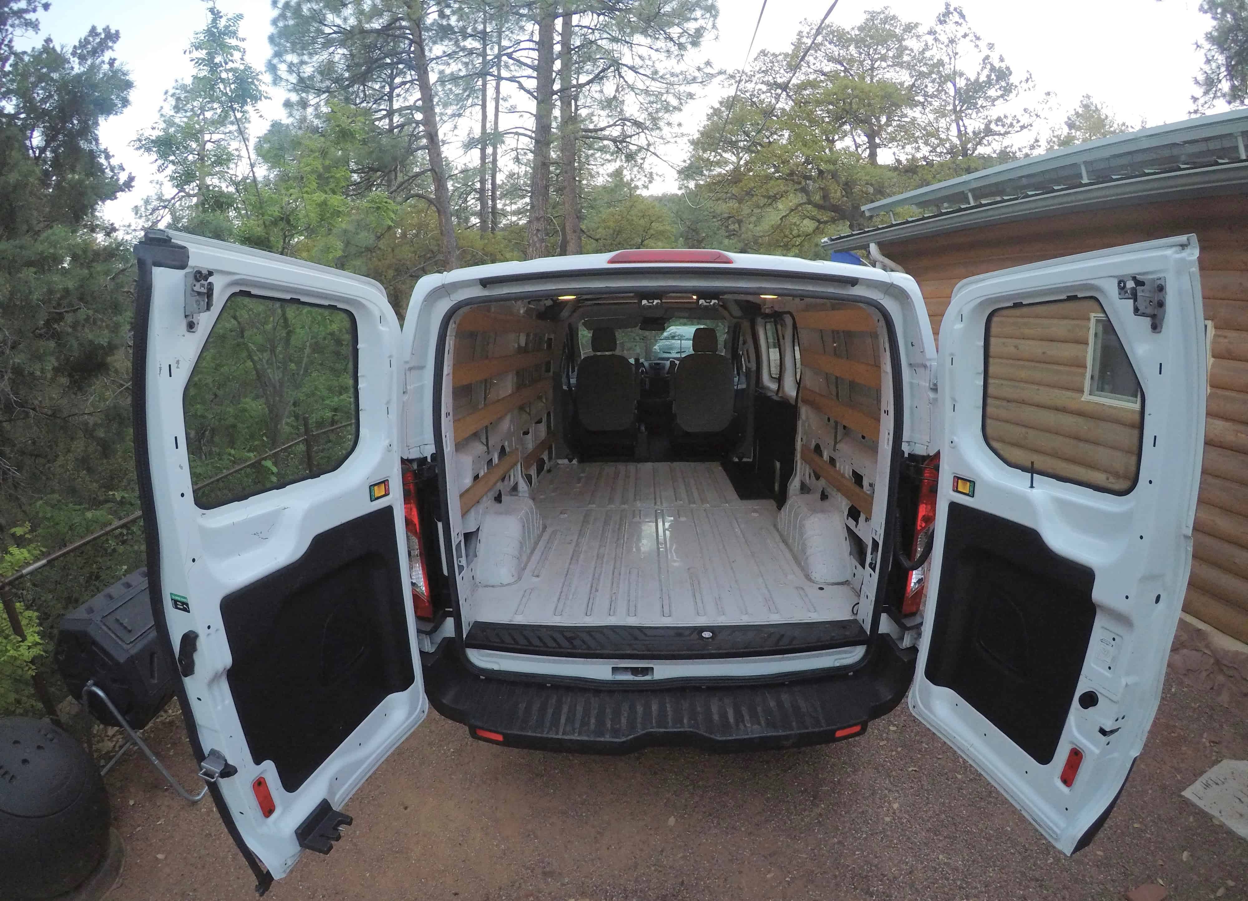 DIY Budget Van Build: How I Converted a Cargo Van Into a