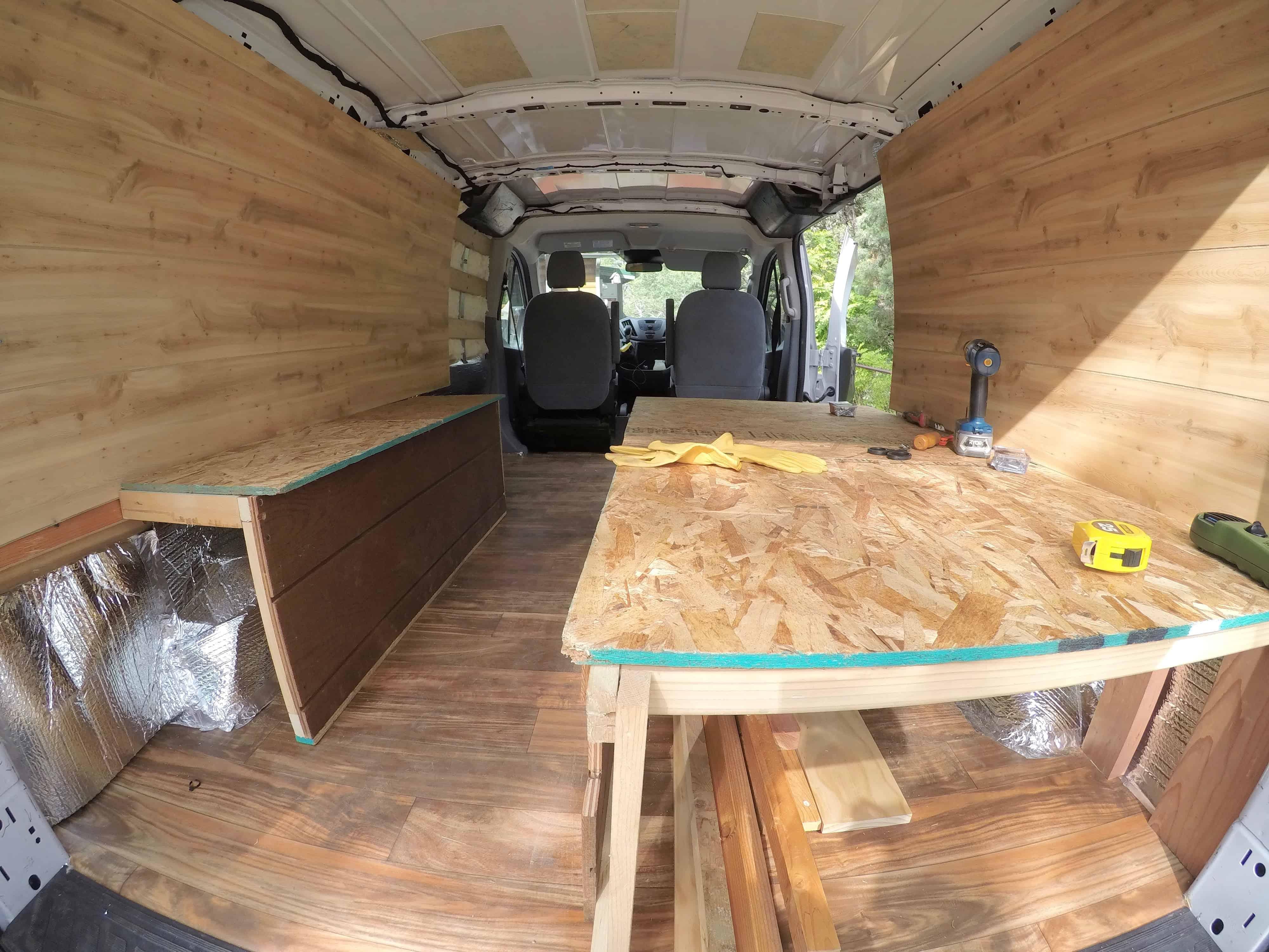 Diy Budget Van Build How I Converted A Cargo Van Into A Camper For